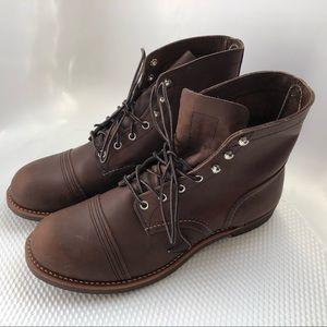 NEW! Iron Ranger Boots Amber Harness Leather Vibra